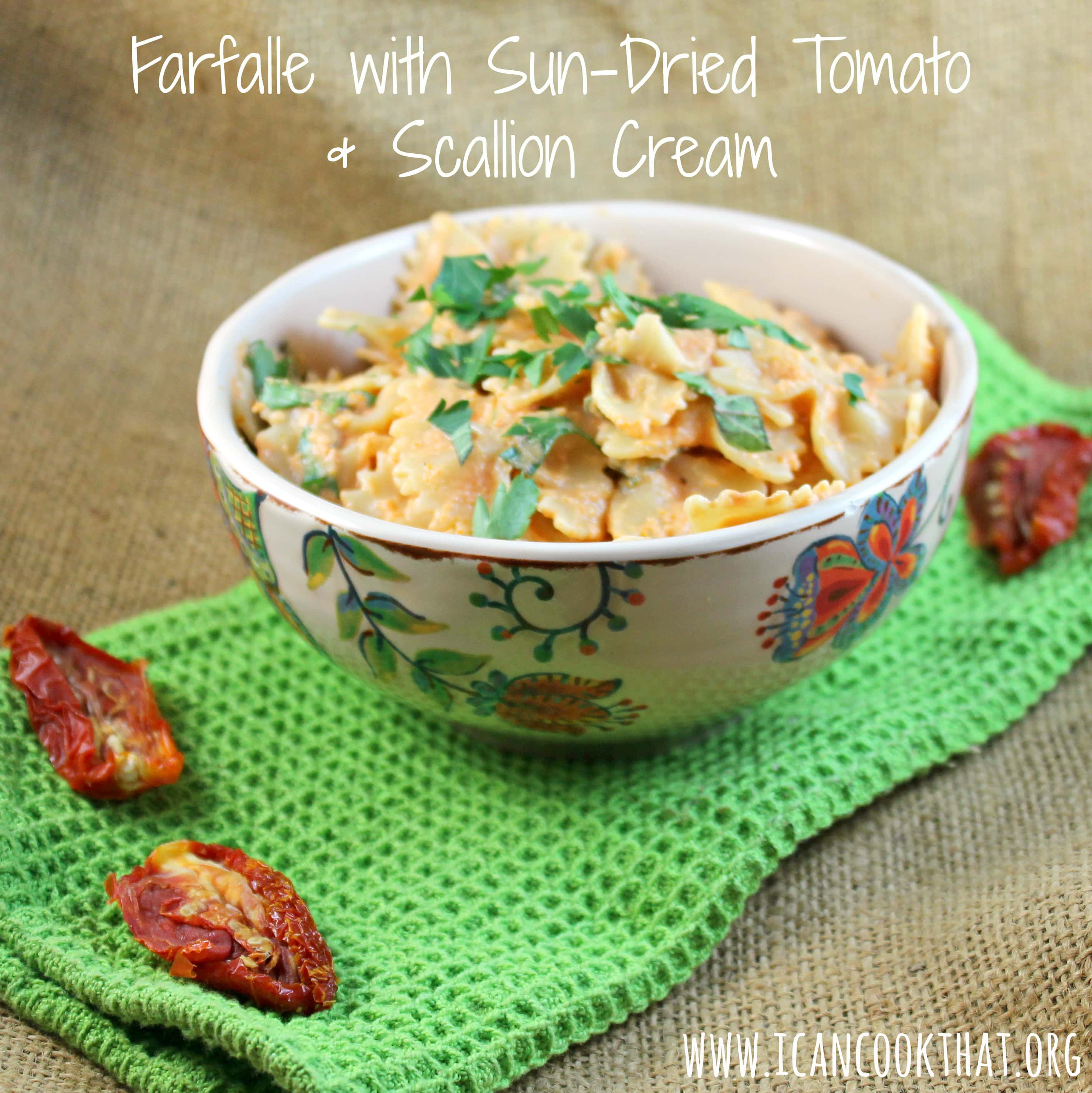 Wine uses sun-dried tomatoes to make a quick and simple no-cook sauce ...