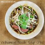 Vietnamese Noodle Soup (Pho)