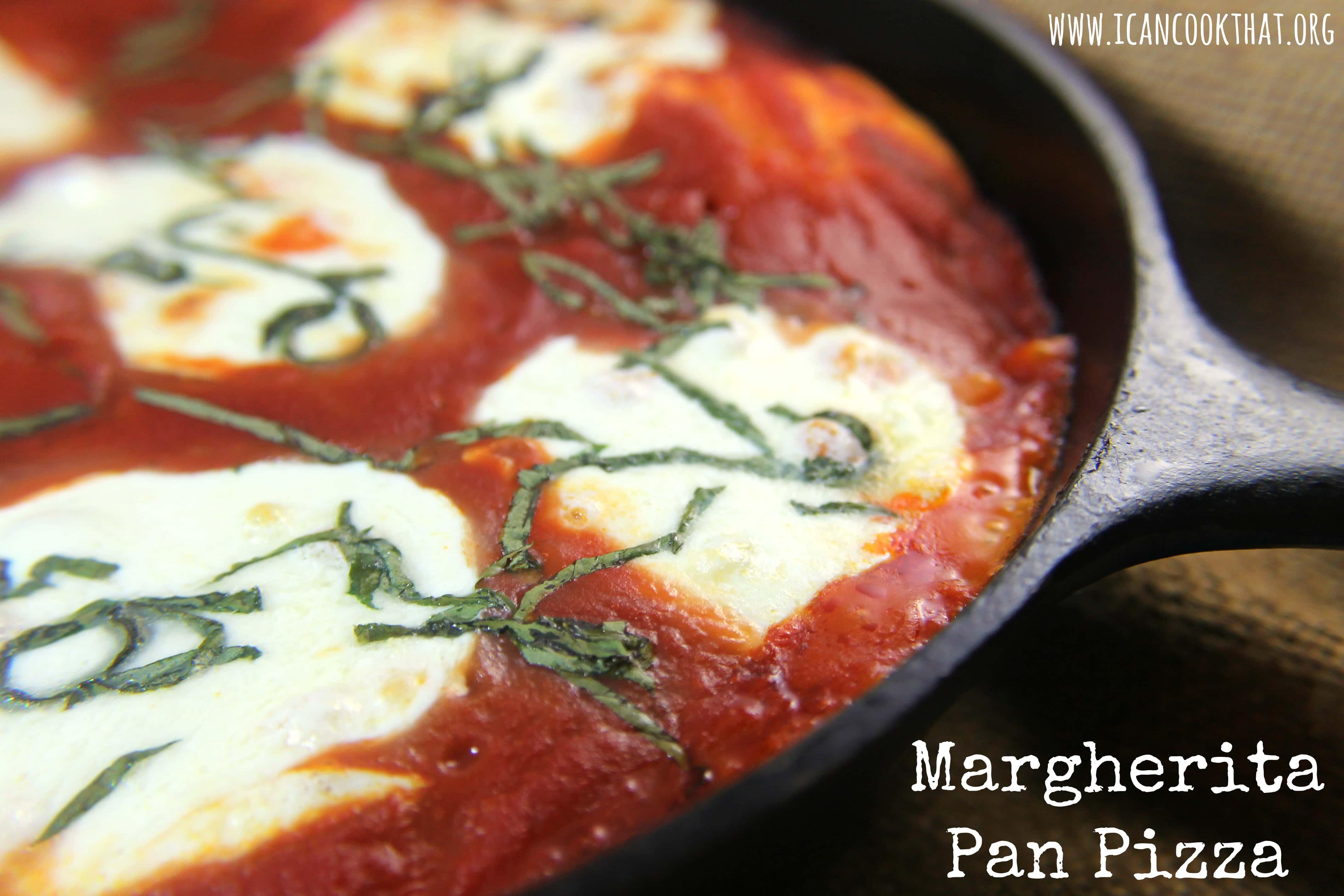 Margherita Pan Pizza