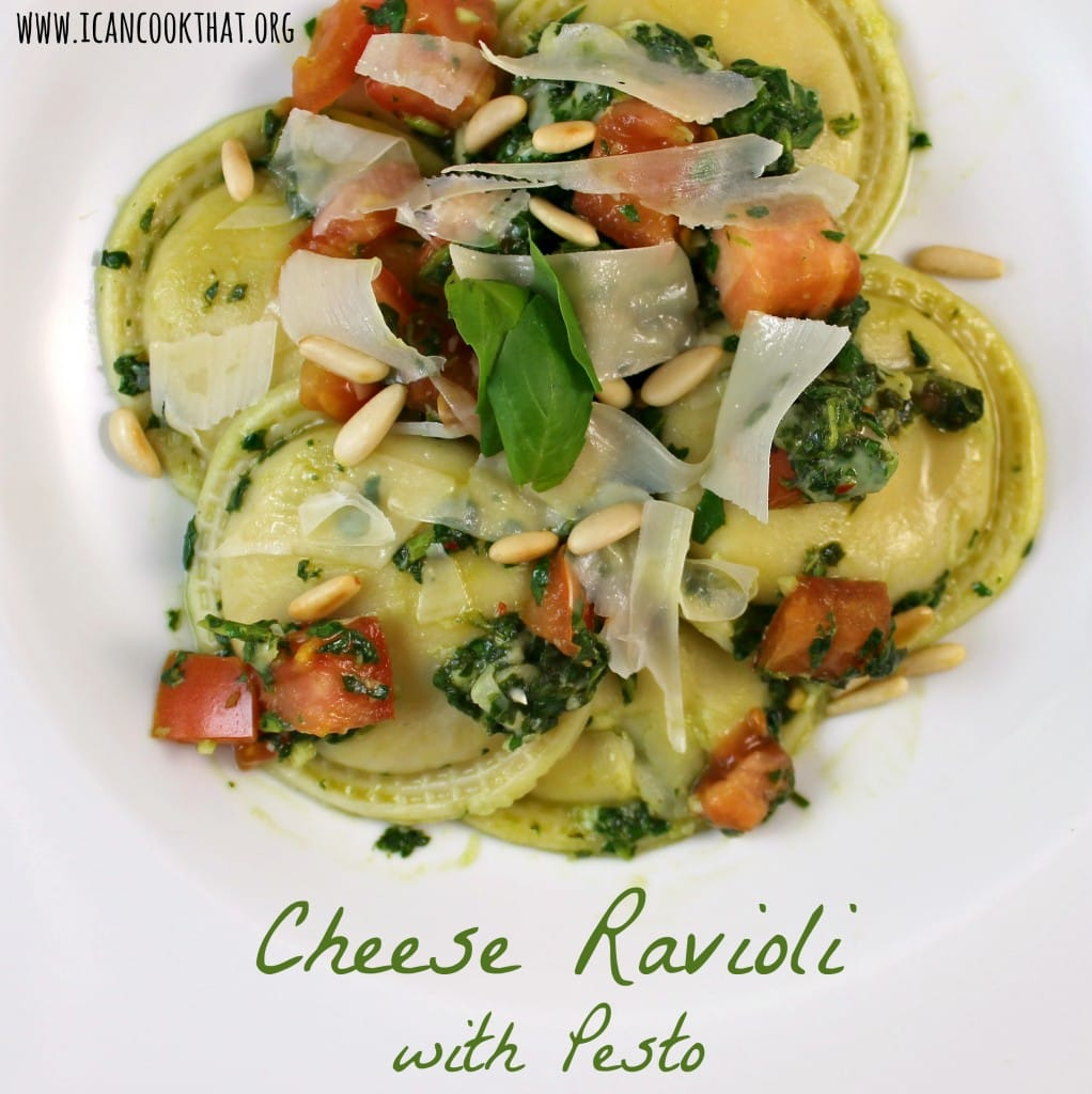 """found this recipe on Cooking Light . The pesto is more of a """"pesto ..."""