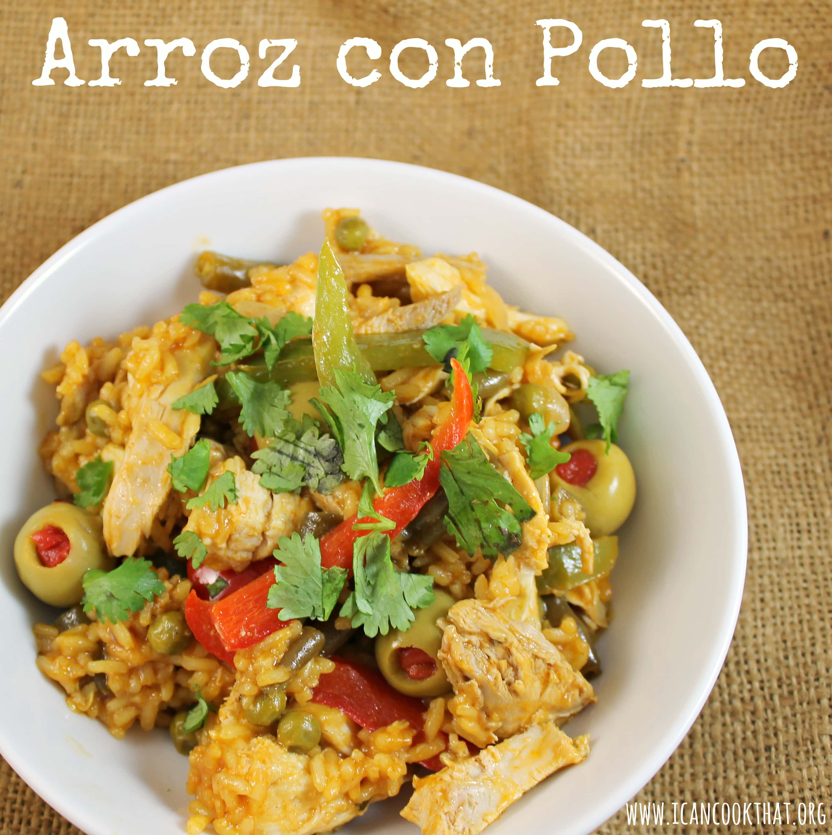 Arroz con Pollo Recipe | I Can Cook That