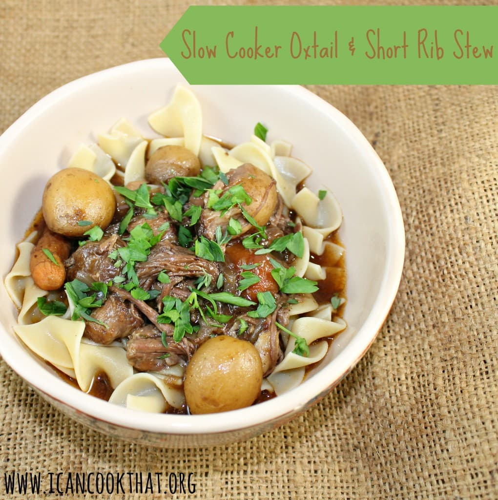 Slow Cooker Oxtail and Short Rib Stew