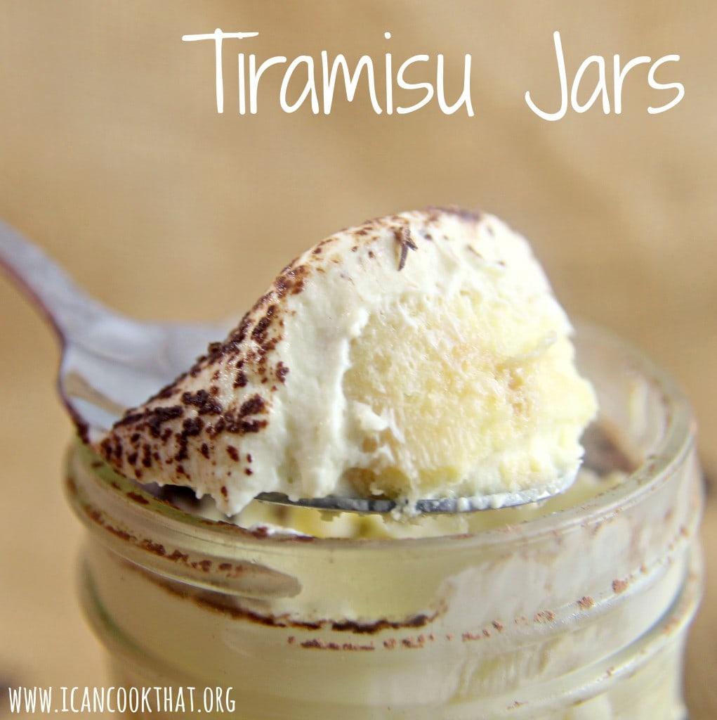 Tiramisu Jars