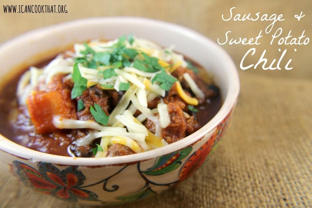 Sausage and Sweet Potato Chili