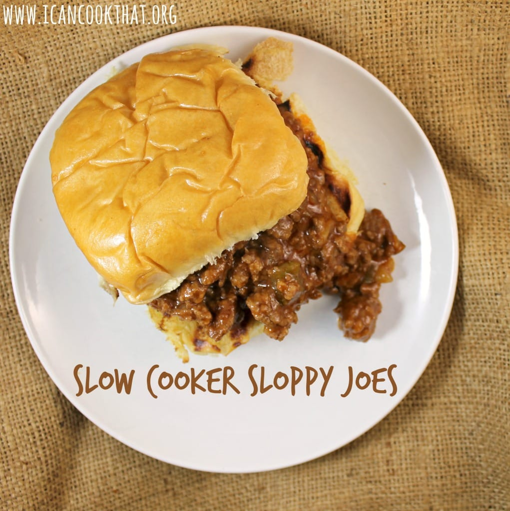 Sloppy Joes are made with beef but I used a mixture of ground beef ...