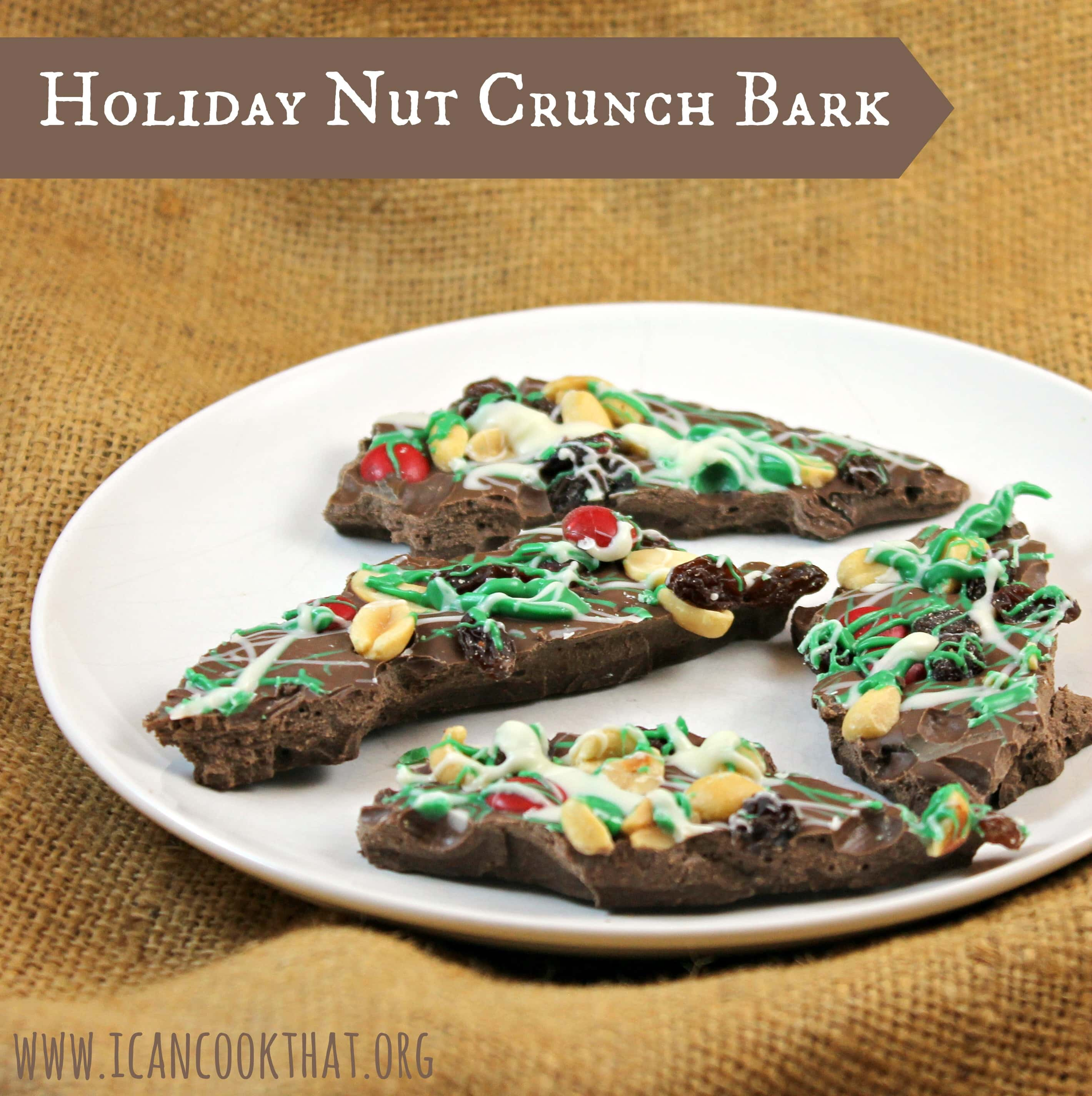 Holiday Nut Crunch Bark Recipe Gonutsfornuts I Can Cook That