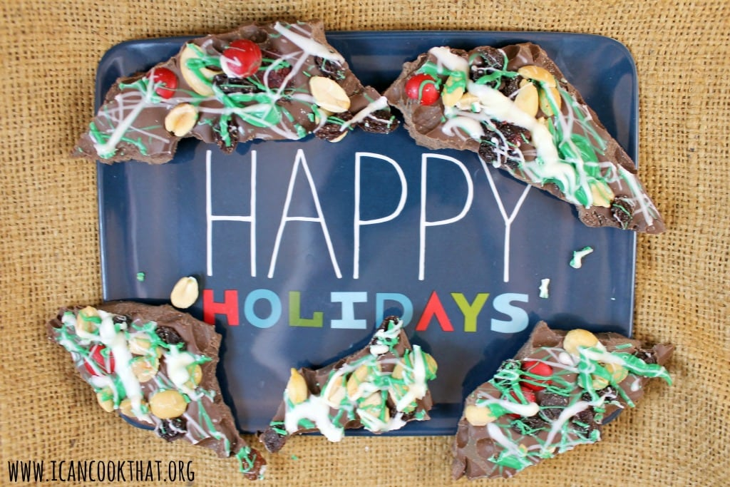 Holiday Nut Crunch Bark