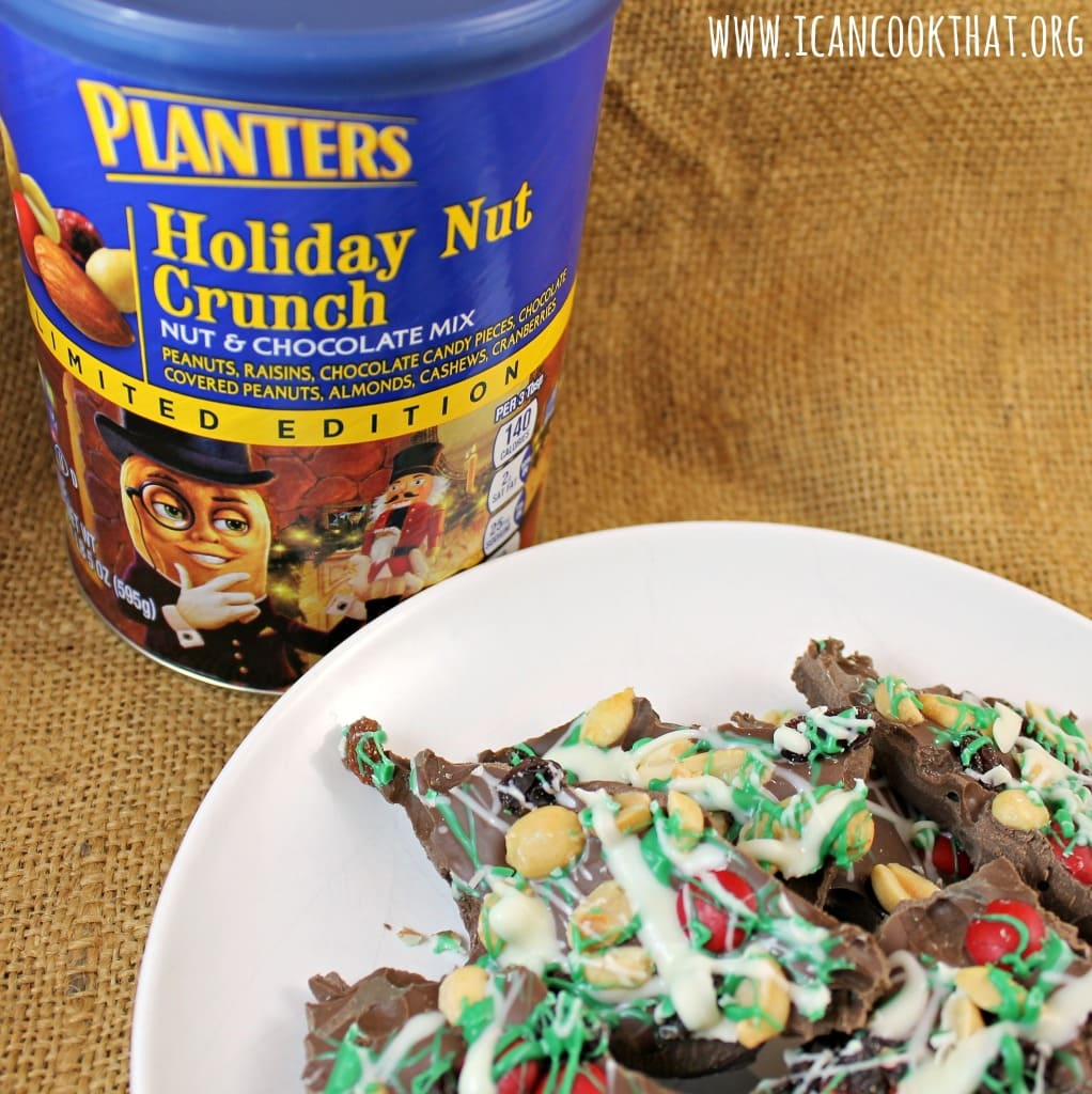 Holiday Nut Crunch Bark #GoNutsForNuts #ad
