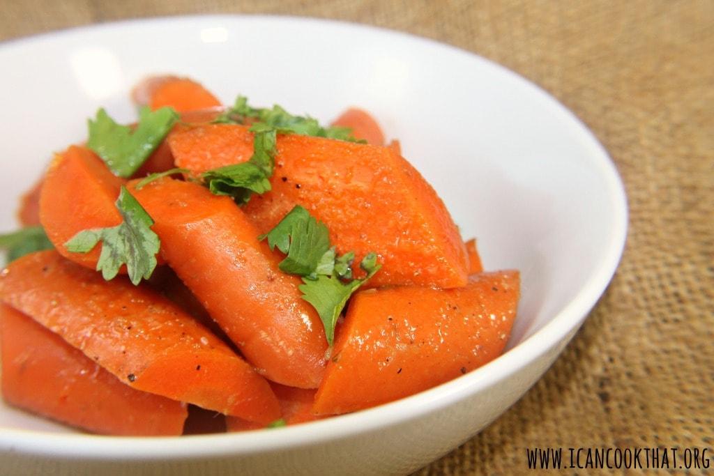 Cardamom-Glazed Carrots