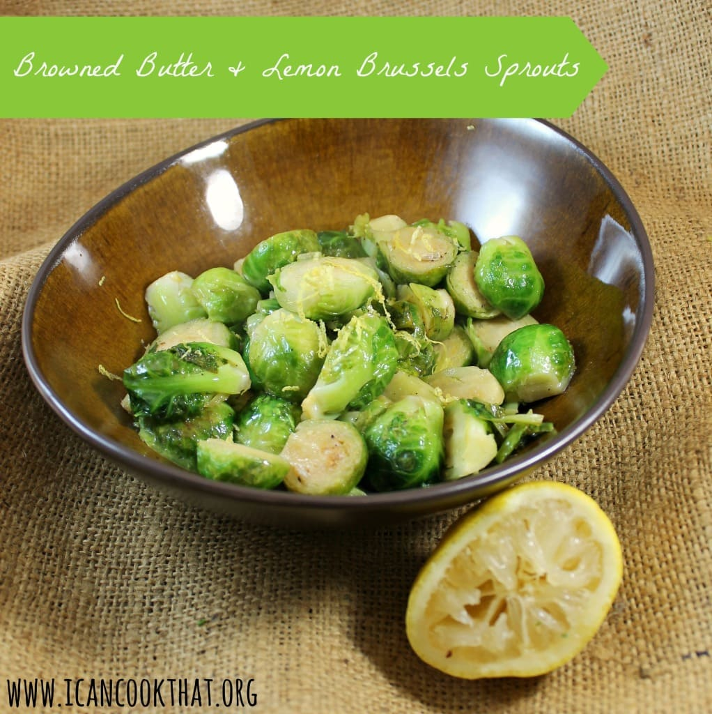 love love love Brussels sprouts. I truly don't understand why I ...