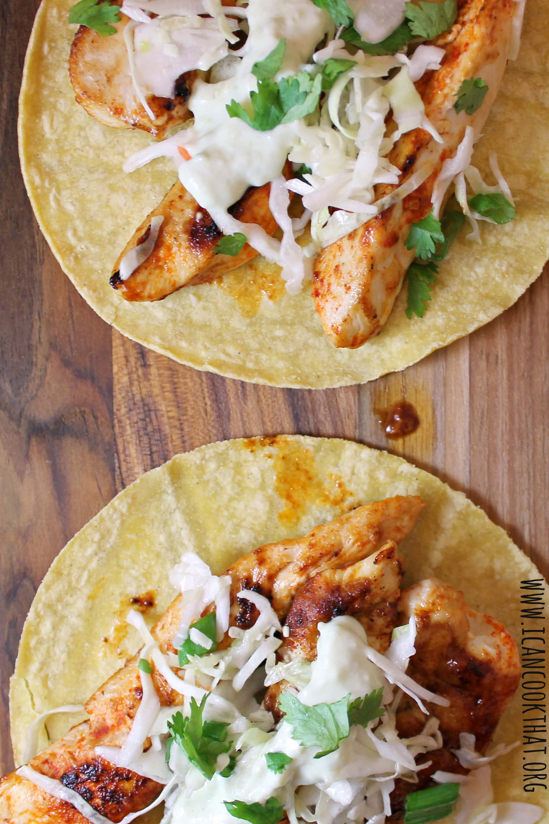 Ancho chicken tacos with cilantro slaw and avocado cream recipe i ancho chicken tacos with cilantro slaw and avocado cream forumfinder Image collections