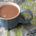 Spiked Mint Coconut Milk Hot Chocolate