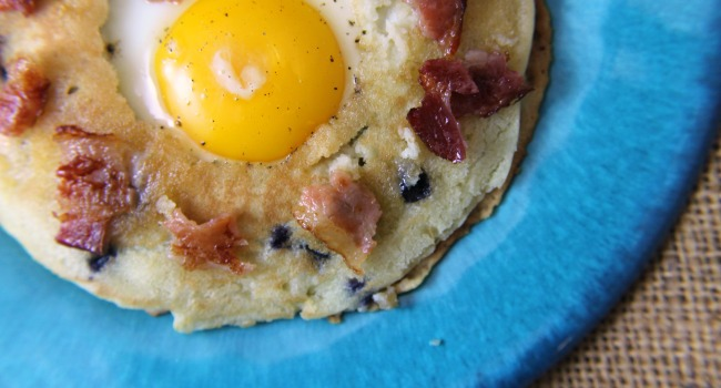 {Giveaway} Frog in a Hole with Blueberry Pancakes