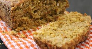 Gluten Free Coconut Cardamom Carrot Bread