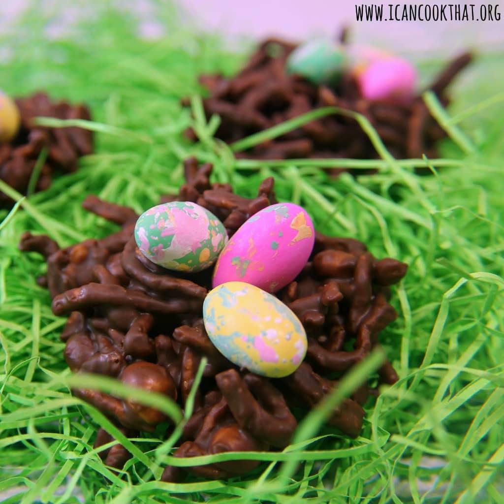Chocolate Peanut Butter Nests