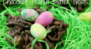 Chocolate Peanut Butter Nests