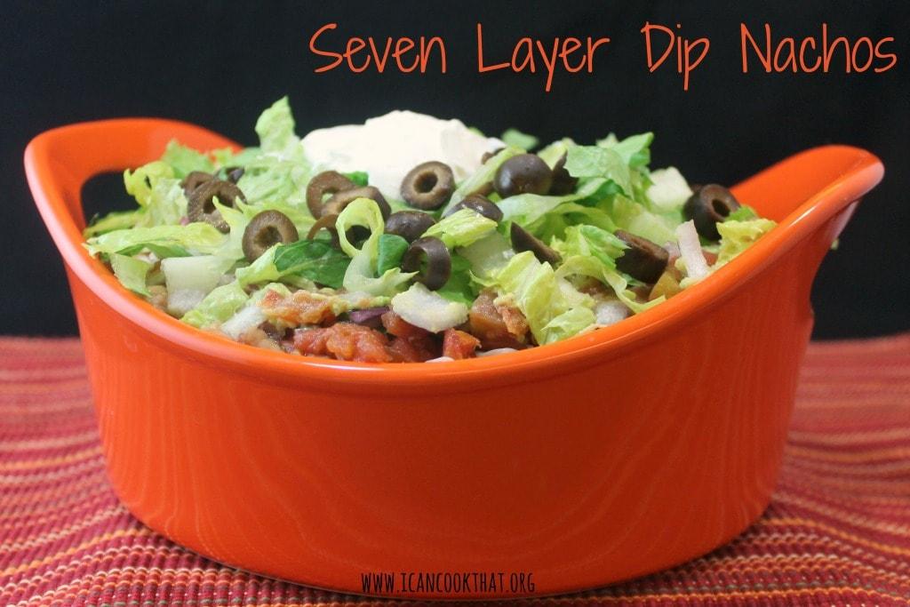Seven Layer Dip Nachos #JustAddRotel