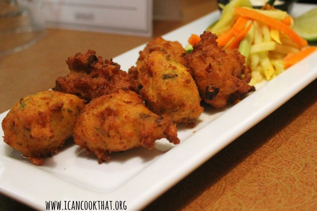 Fried Conch Fritters