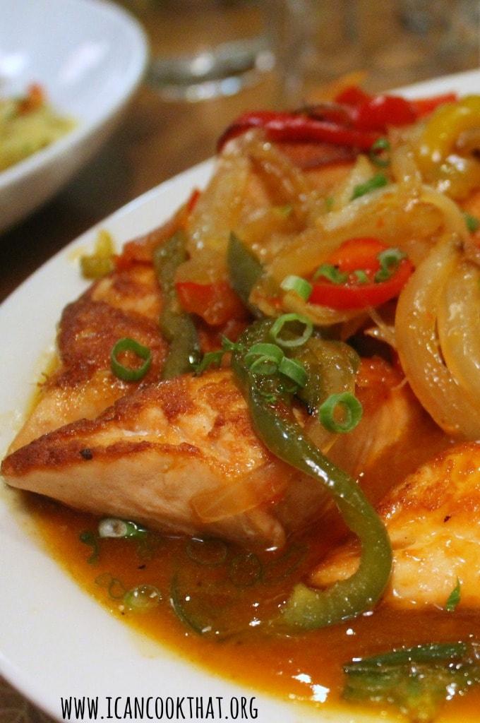 Chili Glazed Salmon