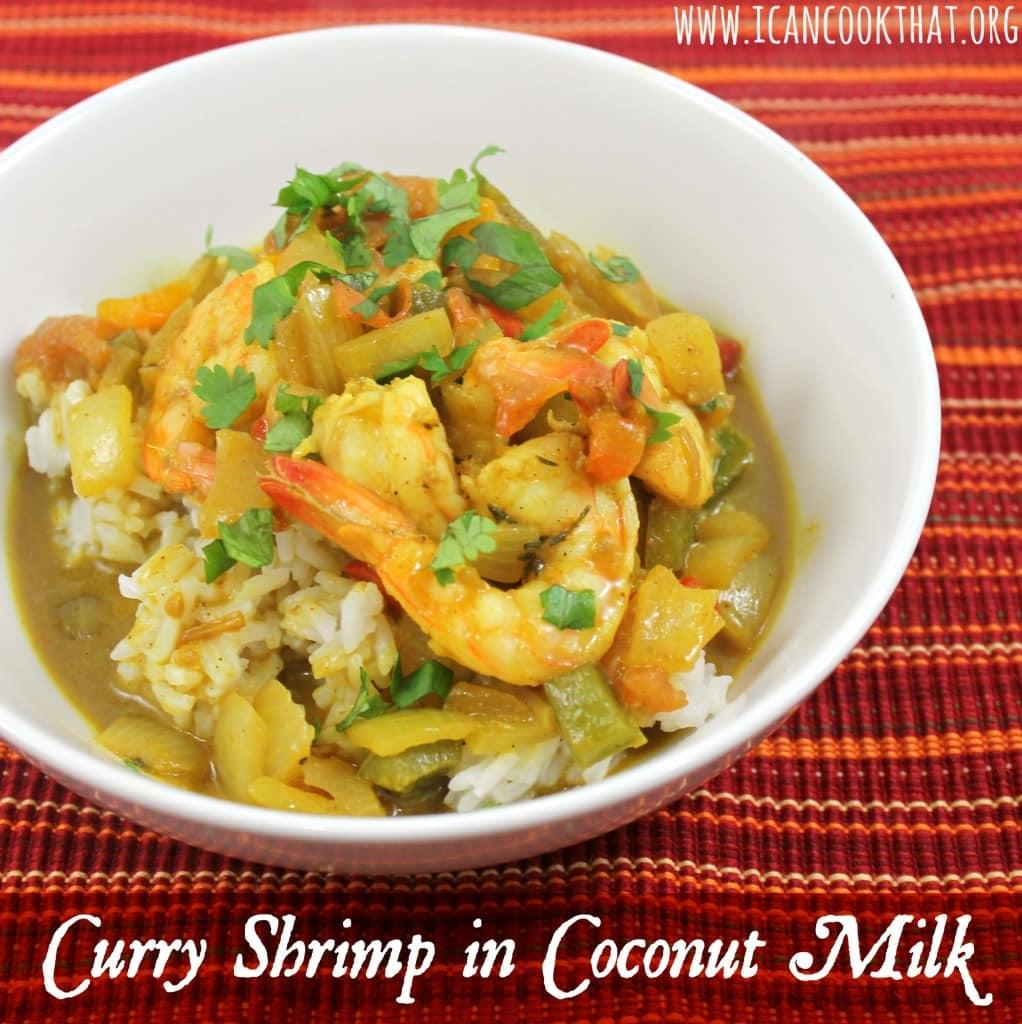 Curry Shrimp in Coconut Milk