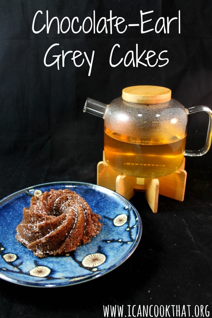Mini Chocolate Earl Grey Bundt Cakes Recipe | I Can Cook That