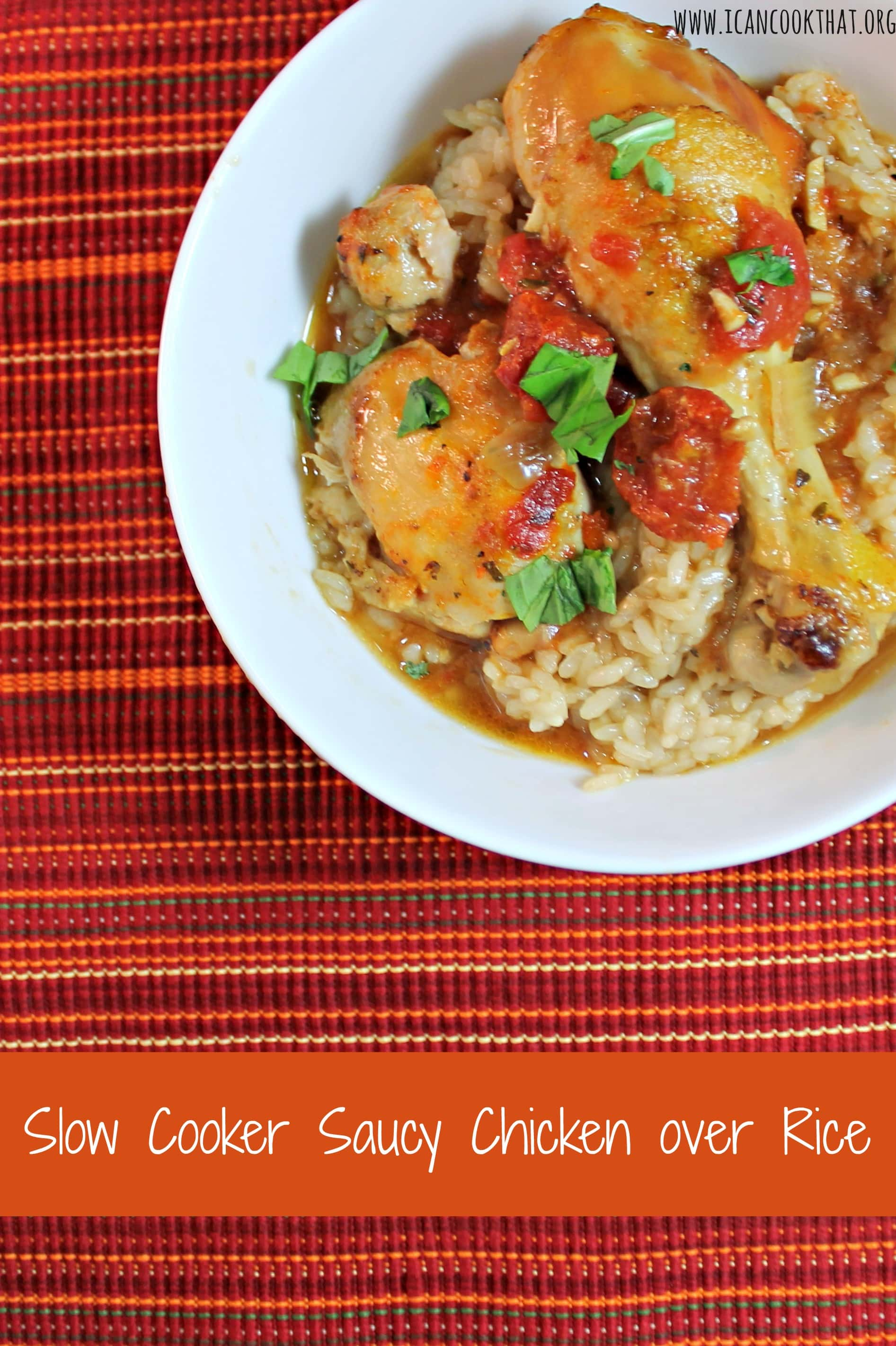 The most delicious, moist, and easy slow cooker chicken yet! Slow Cooker Salsa Chicken requires just a few ingredients: your favorite salsa, some spices, and the chicken! The perfect healthy, gluten-free, paleo weeknight dinner to please everyone! Place the chicken in the bottom of the slow cooker.