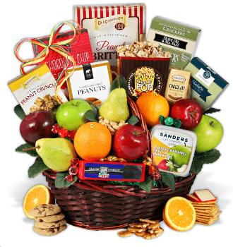 Bountiful Harvest Fruit Gift Basket