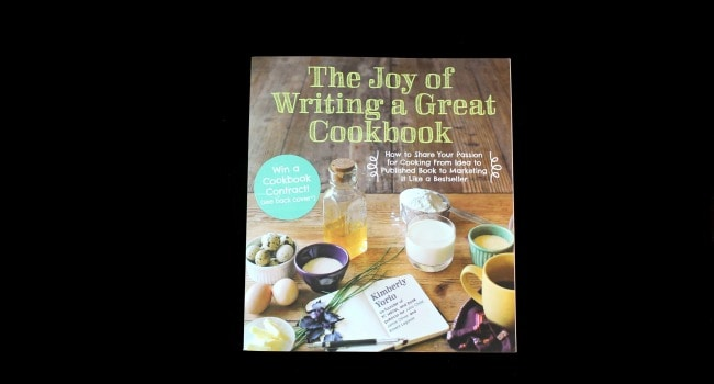 {Giveaway} The Joy of Writing a Great Cookbook Review