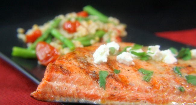 {Giveaway} Grilled Citrus Salmon