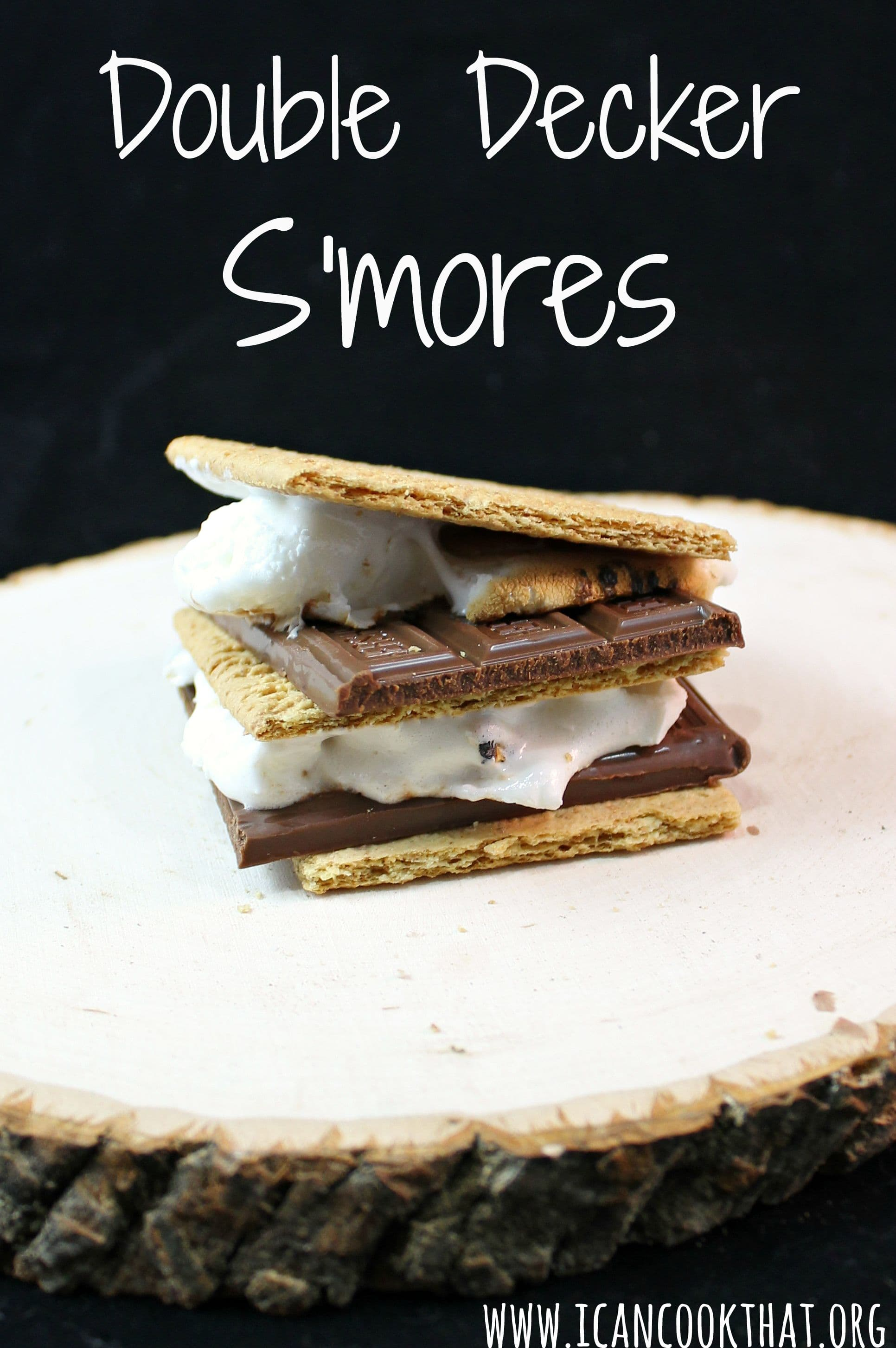 Double Chocolate Indoor S'mores Recipe — Dishmaps