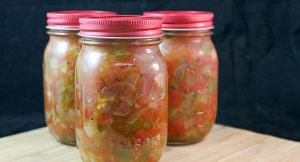 Salsa Recipe & Beginners Guide to Canning #CanItForward