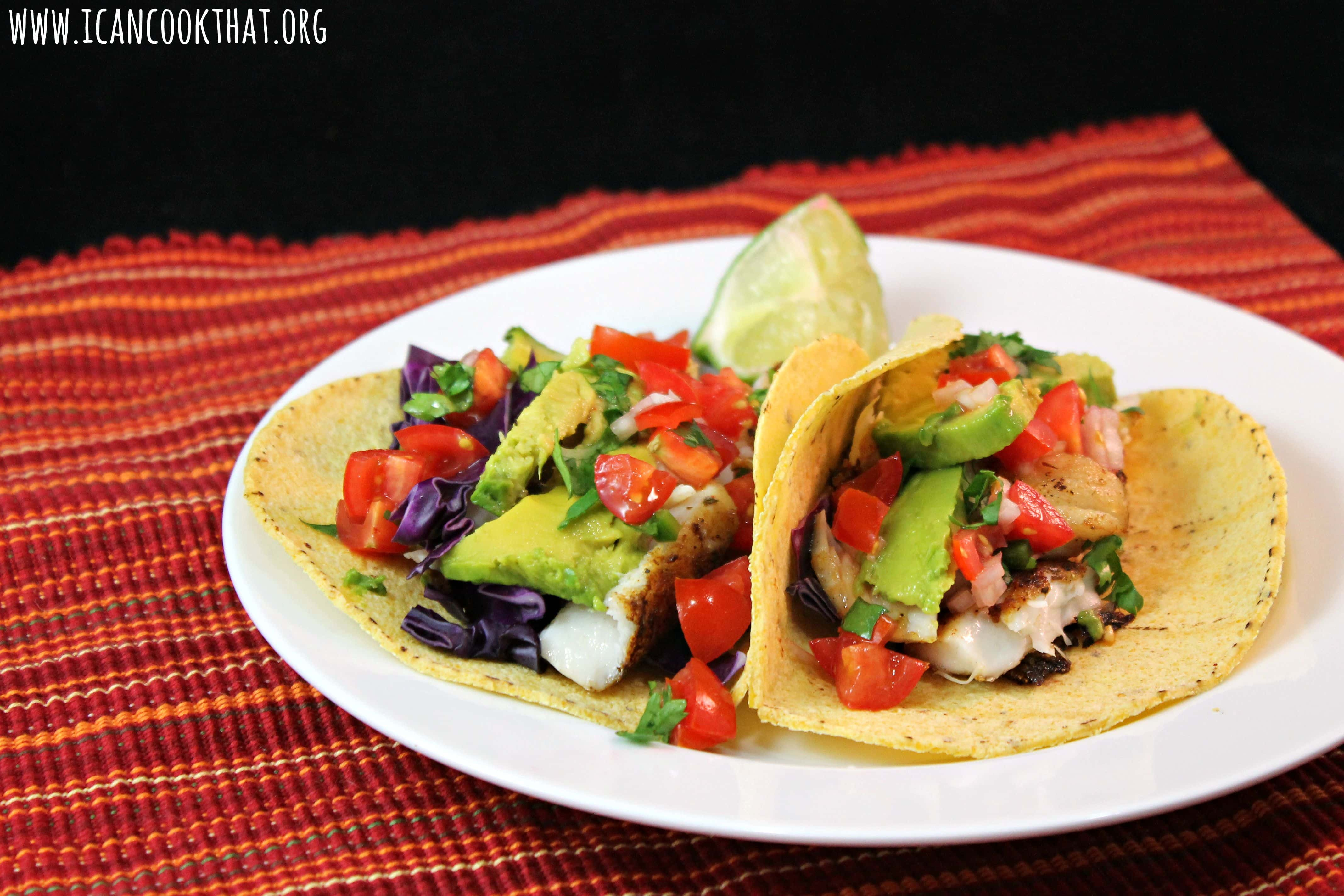 Rockfish (Striped Bass) Tacos Recipe | I Can Cook That