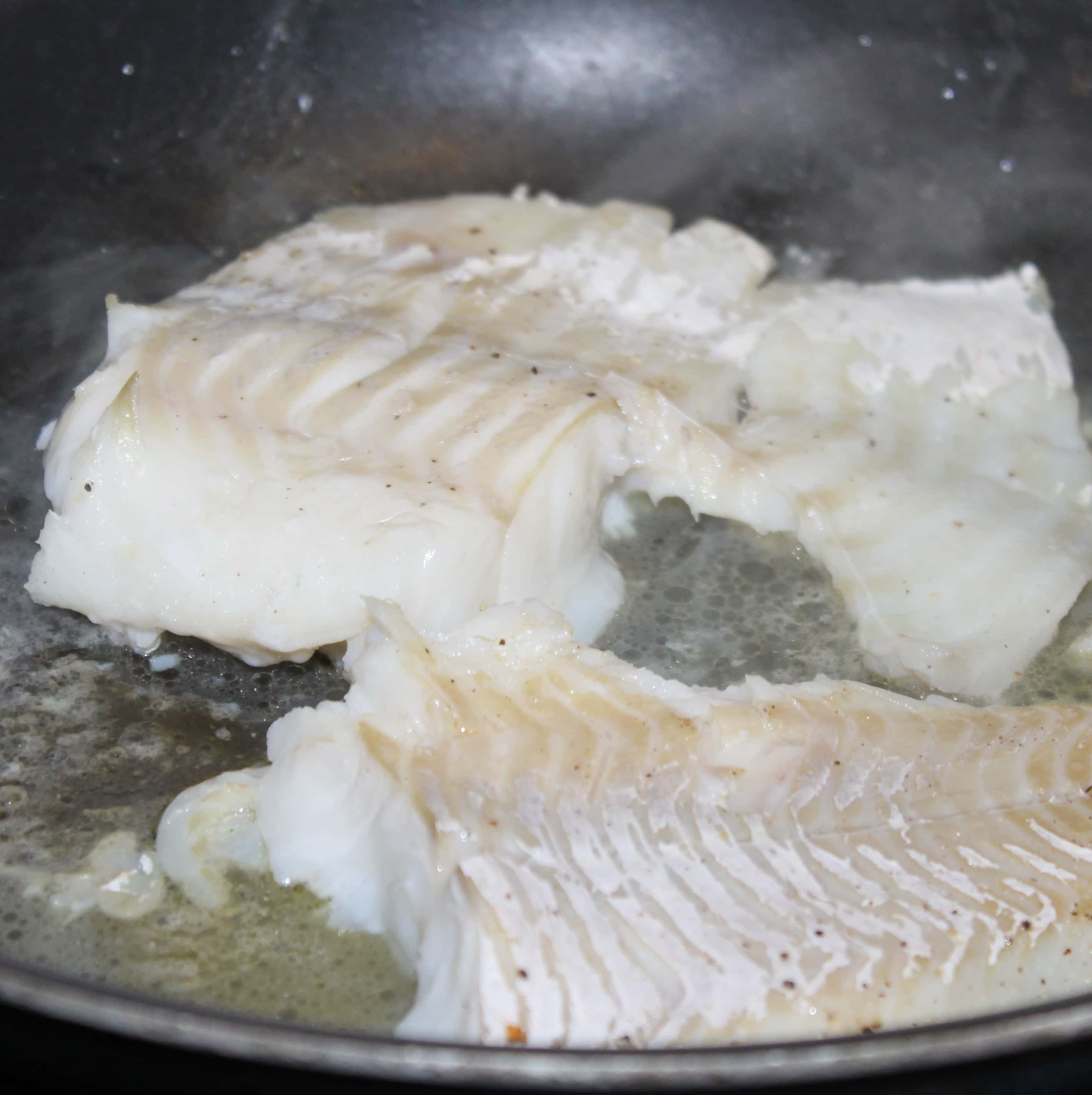 Cod Fish With Hazelnut Browned Butter Recipe — Dishmaps
