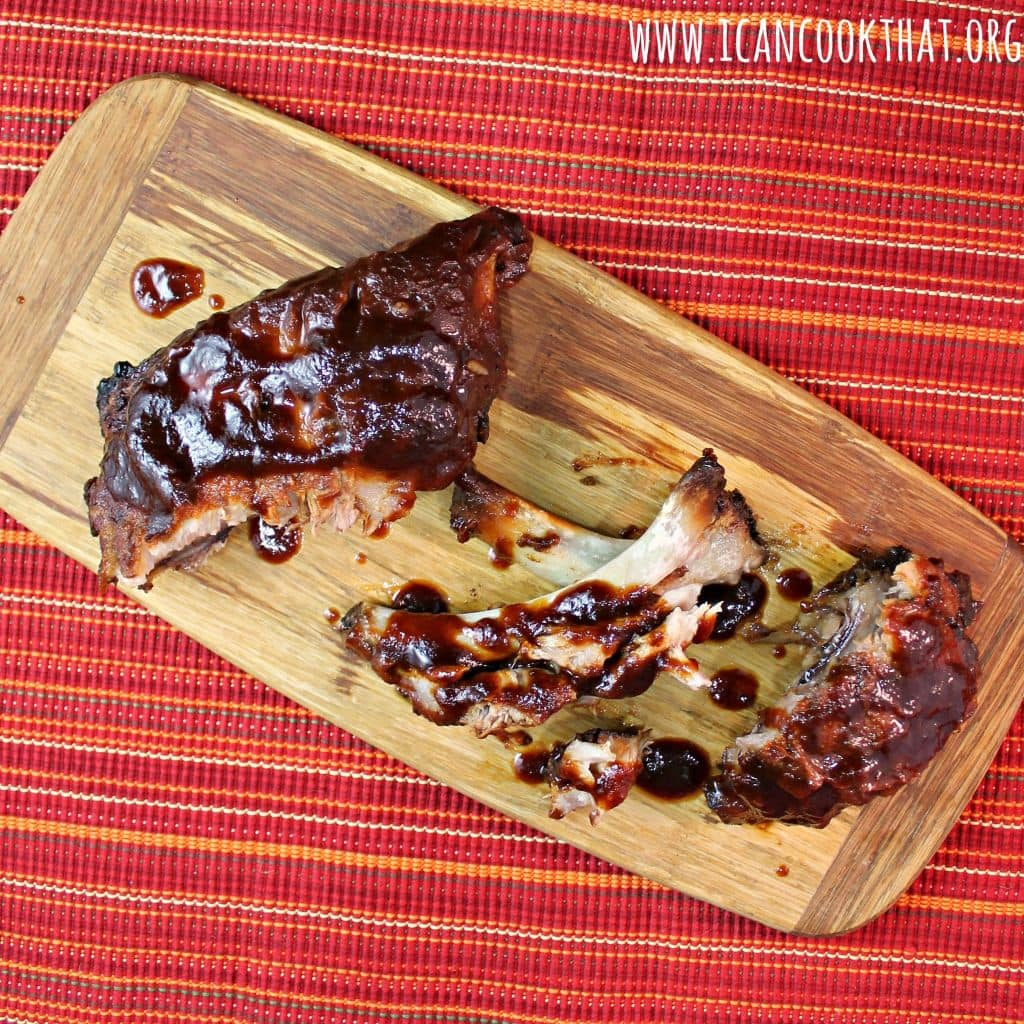 Smoky Slow Cooker Ribs #KingOfFlavor