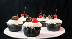 Black Forest Cupcakes #Choctoberfest with Imperial Sugar