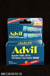 Advil Tablet Vial