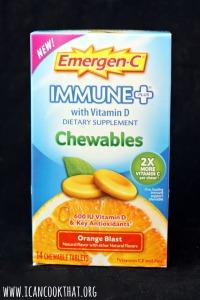 Emergen-C Immune+ Chewables