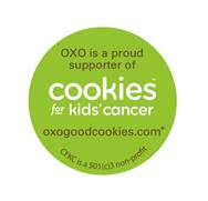 Cookies for Kids' Cancer Sticker