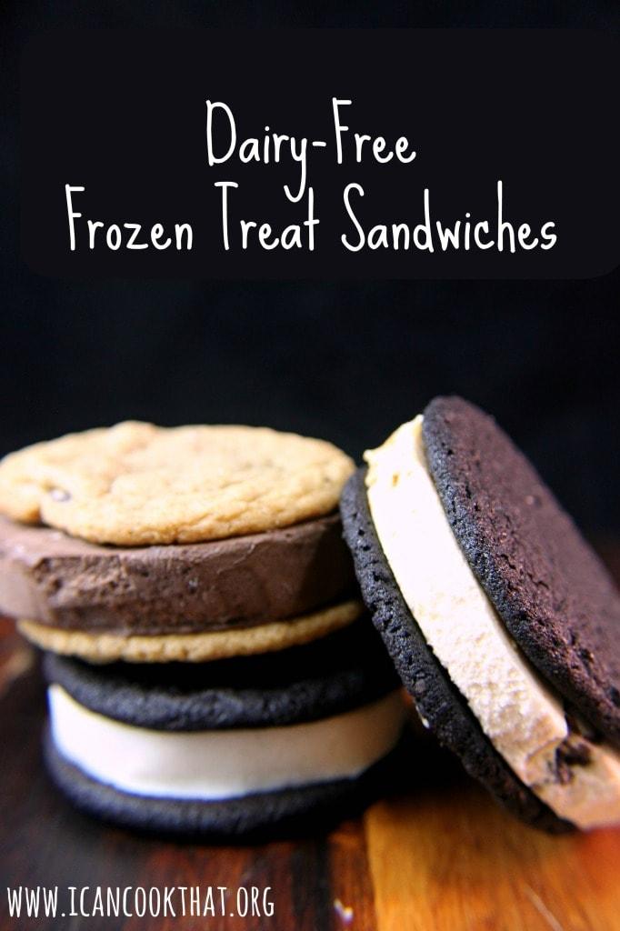 Dairy-Free Frozen Treat Sandwiches #DairyFree4All