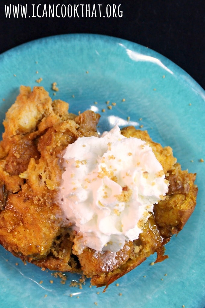 Slow Cooker Pumpkin Pie Spice French Toast Casserole #DelightfulMoments