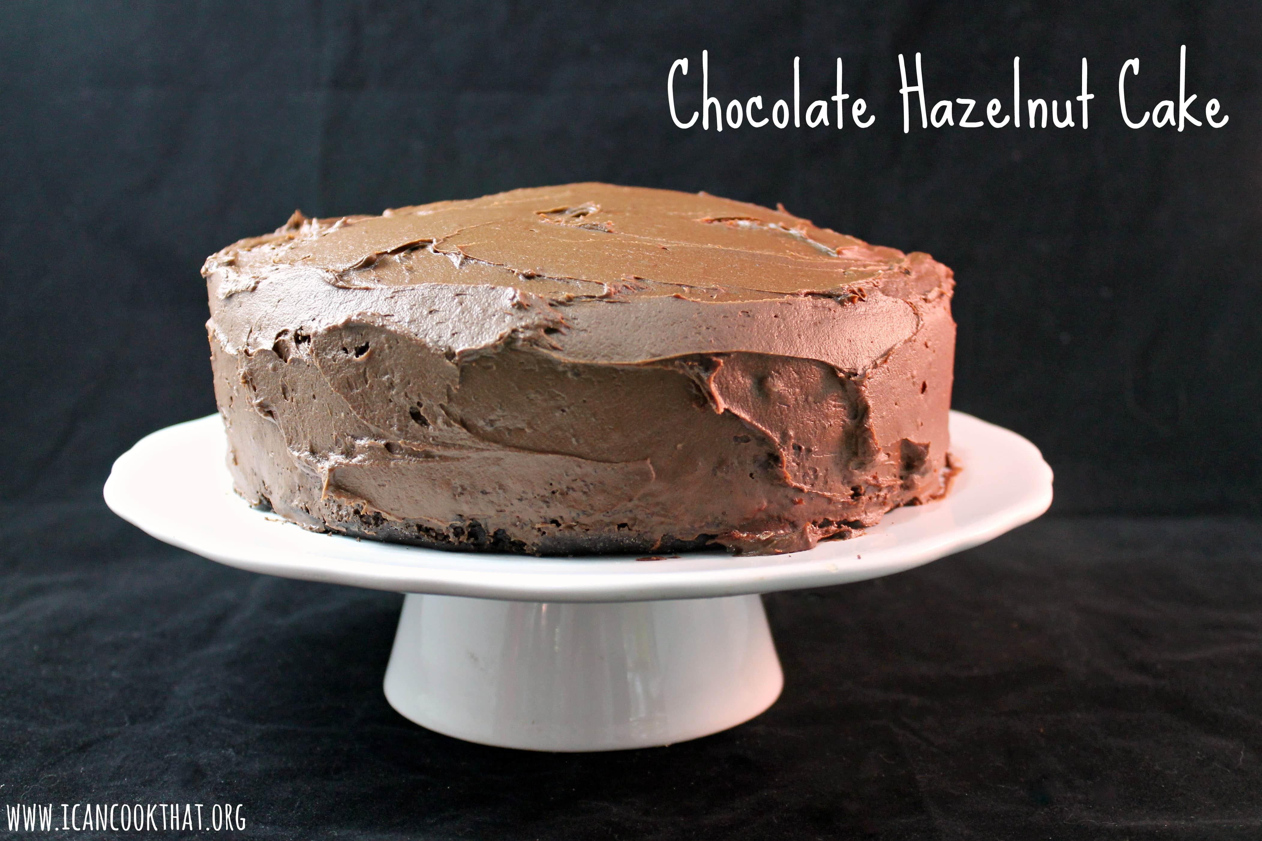 Hazelnut flour cake recipe