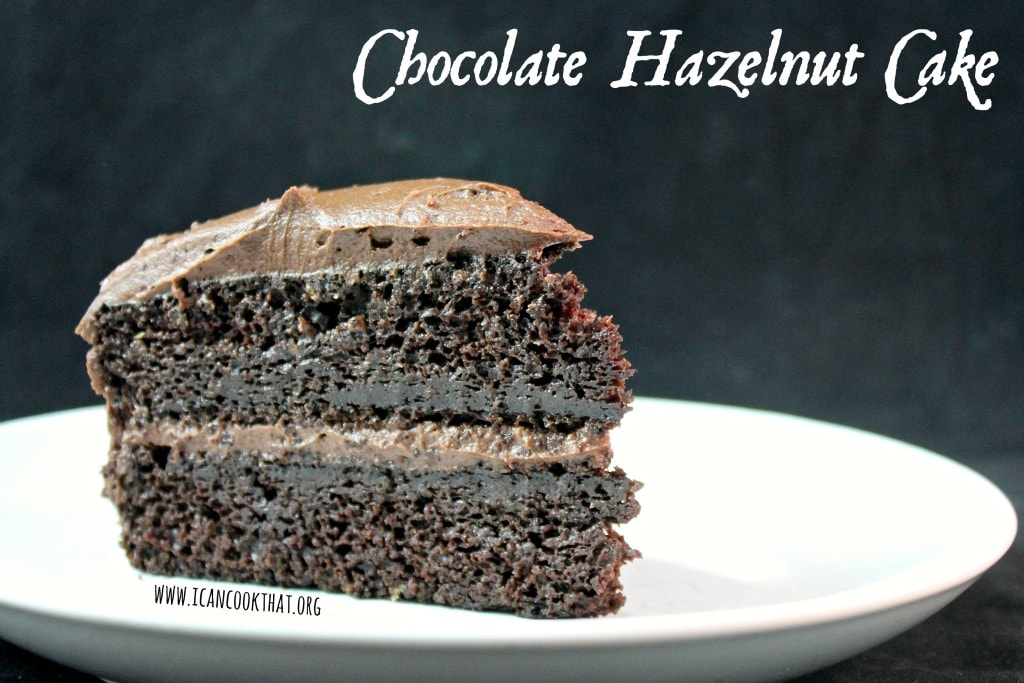 Chocolate Hazelnut Cake #SplendaHoliday