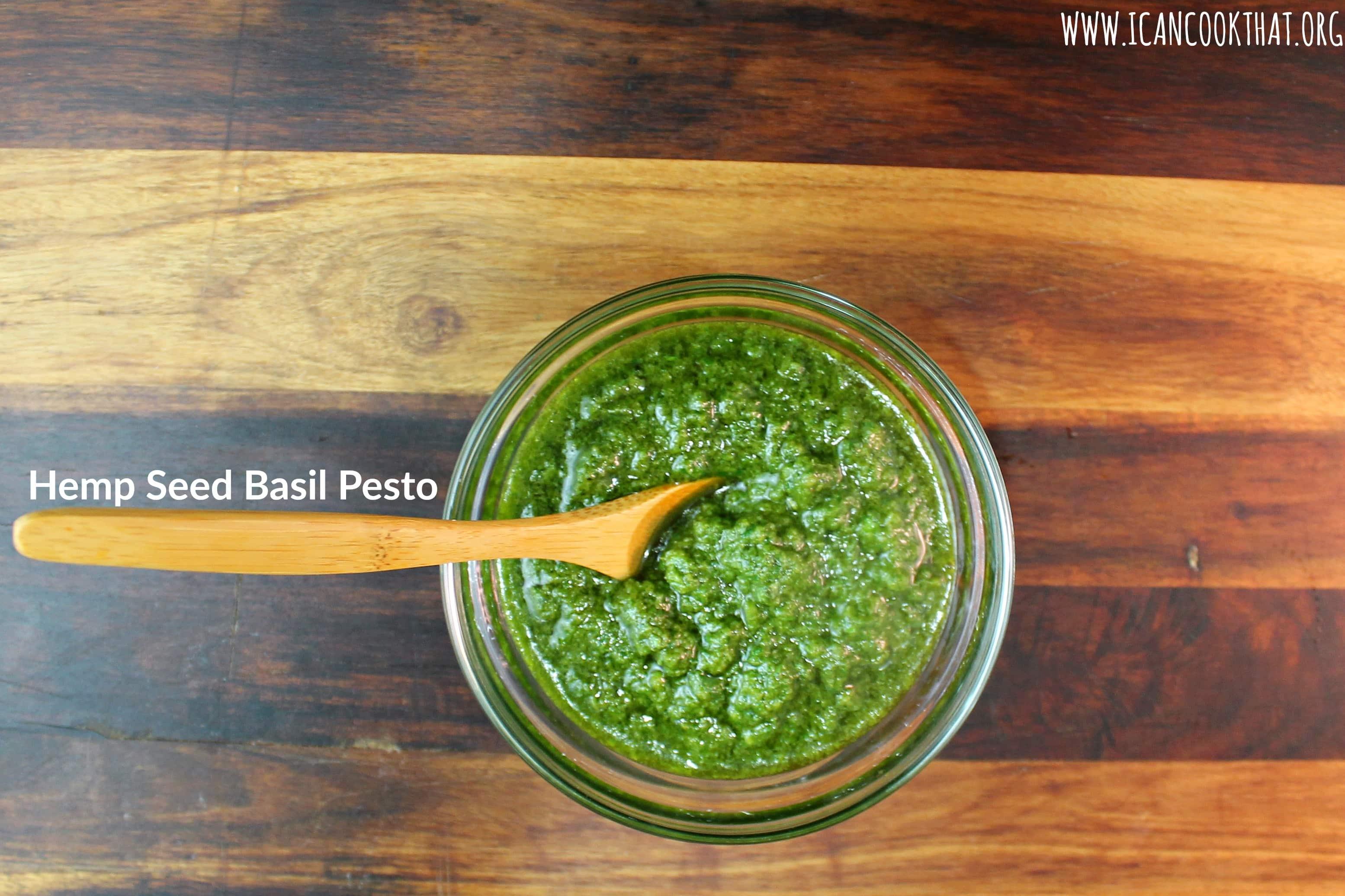 Hemp Seed Basil Pesto