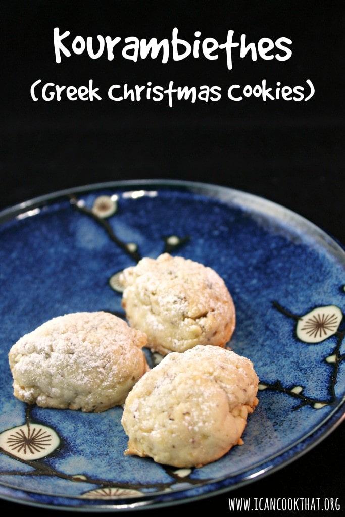 Kourambiethes (Greek Christmas Cookies)