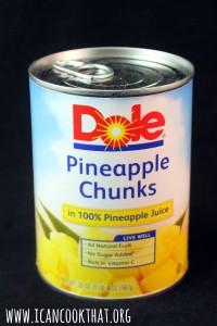 Dole Pineapple Chunks #ChineseNYeats