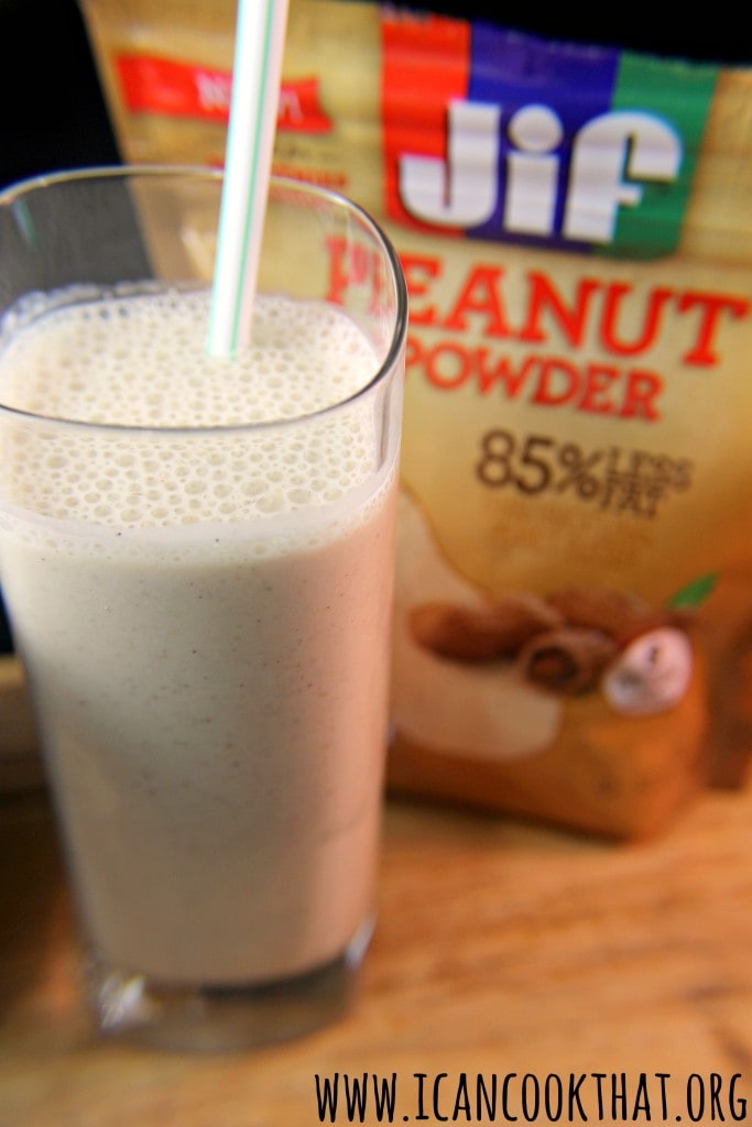 Peanut Butter Banana Oatmeal Smoothie #MySmoothie