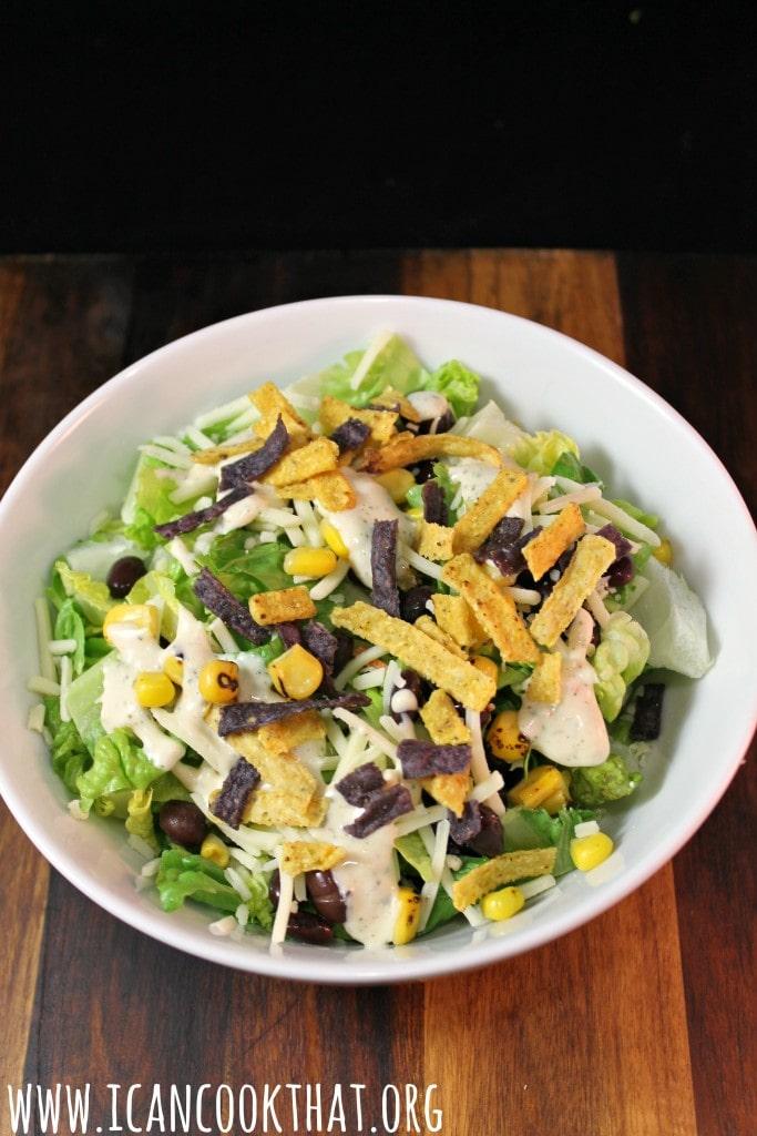 elevAte Organic Southwest Salad #ElevateSuperFoods