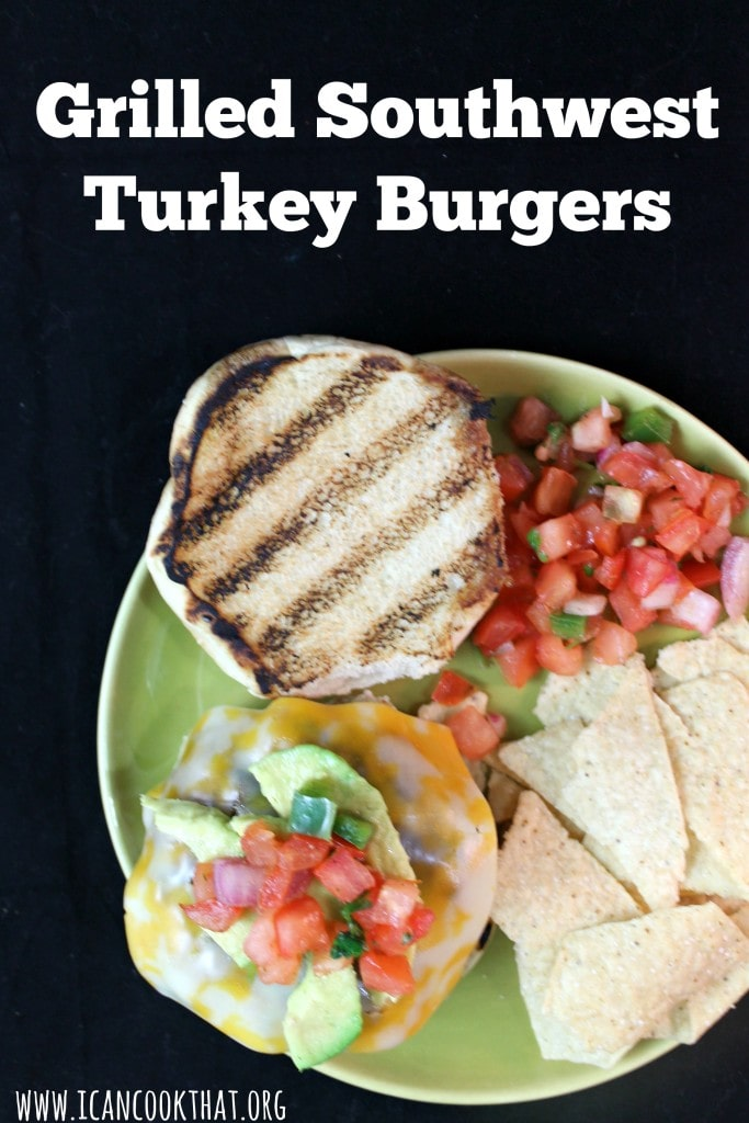 Grilled Southwest Turkey Burgers Recipe | I Can Cook That
