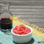 Blackberry Syrup & Watermelon-Blackberry Granita #CanItForward