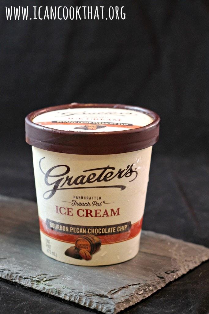 Graeter's Bourbon Pecan Chocolate Chip Ice Cream